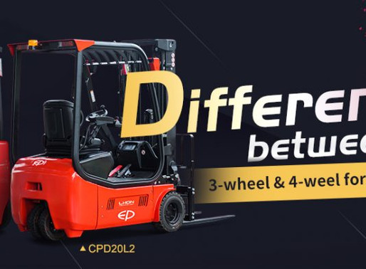 3-WHEELS VS 4-WHEELS FORKLIFT WHICH IS BETTER SUITED TO YOUR BUSINESS?