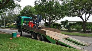 Singapore electric forklift rental