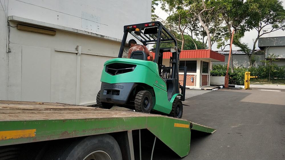Diesel Forklift Rental Singapore