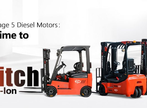 COSTLY DIESEL FORKLIFT: IS THE FUTURE ELECTRIC FORKLIFT?