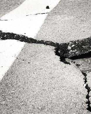 Cracked Asfalt