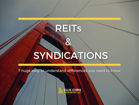 7 Huge Easy To Understand Differences You Need To Know - REITs & Syndications