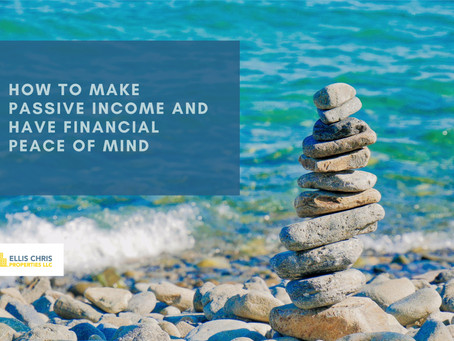 How To Make Passive Income And Have Financial Peace of Mind