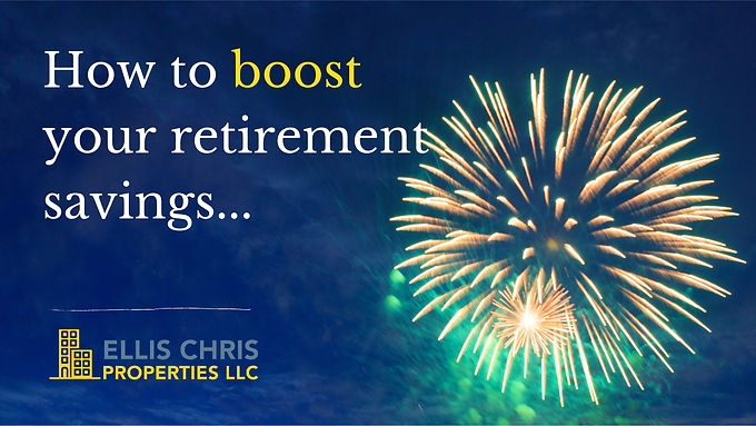 How To Boost Your Retirement Savings...