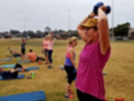 Outdoor Exercise Punchrunlift.com.au