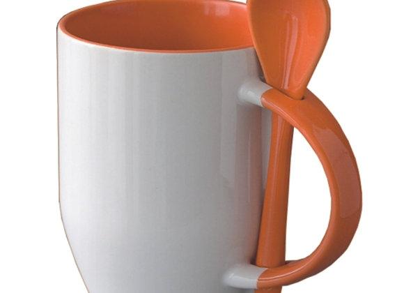 Mug cuillère intérieur couleur