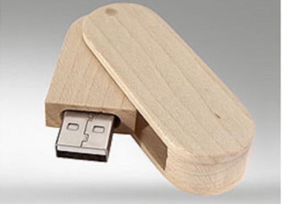 Clé USB en bois à graver