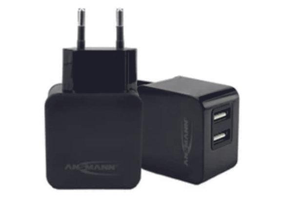 Chargeur double USB secteur