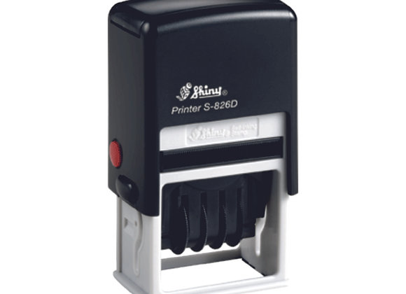 Tampon S-826 Dateur (41x24mm)