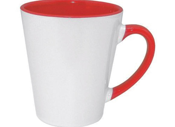 Mug conique intérieur couleur