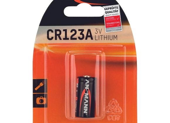 Pile CR 123A