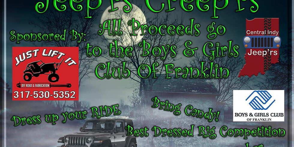 Jeep'rs Creep'rs at the Boys & Girls Club