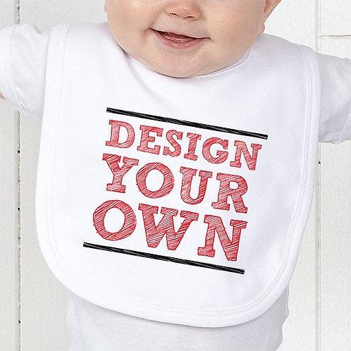 Bavoir bébé à personnaliser