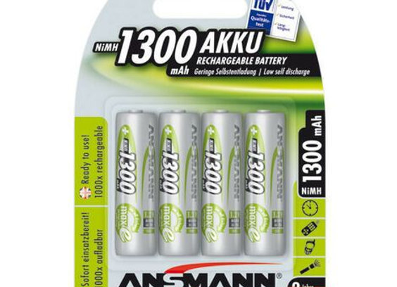 Piles AA 1300mAh rechargeables x4