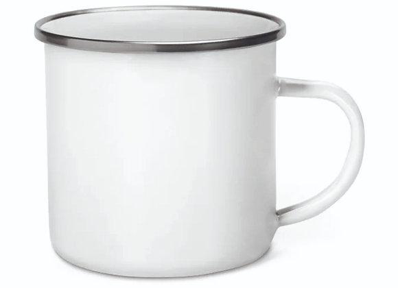 Mug inox émaillé 350ml