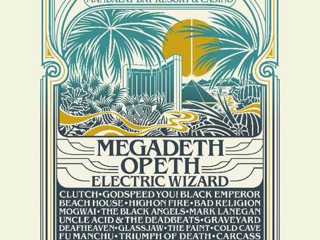 PSYCHO LAS VEGAS 2019: Megadeth And Opeth Join Electric Wizard To Headline America's Rock 'N