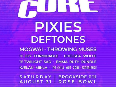 The Cure headlines and curates Pasadena Daydream Festival