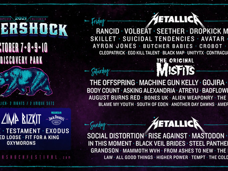 The Misfits Join Sold-Out Aftershock Festival 2021 Lineup As Headliners