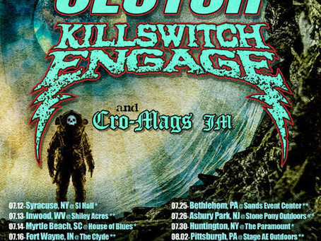 CLUTCH AND KILLSWITCH ENGAGE ANNOUNCE CO-HEADLINE SUMMER TOUR