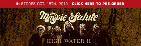 The Magpie Salute release follow-up studio album 'High Water II' Out October 18, 2019 on Pro