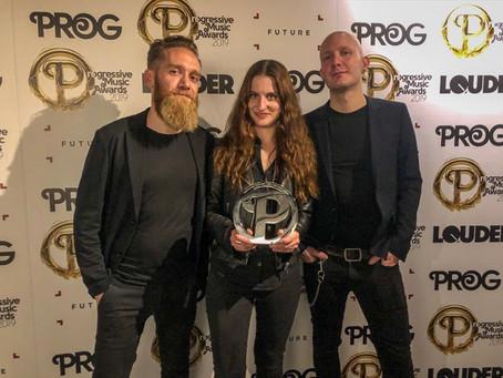 CELLAR DARLING Win Progressive Music Award