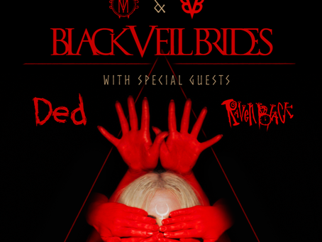 IN THIS MOMENT ANNOUNCE SPRING 2020 HEADLINE TOUR WITH BLACK VEIL BRIDES, DED, + RAVEN BLACK