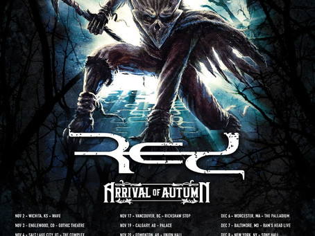ARRIVAL OF AUTUMN Opening for IN FLAMES 2019 North American Tour!