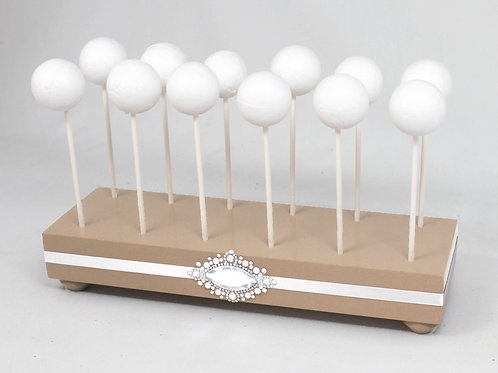 Small Champagne Cake Pop Stand