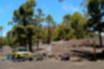 Vietos iškyloms Tenerifėje, pikniko vietos Tenerifėje