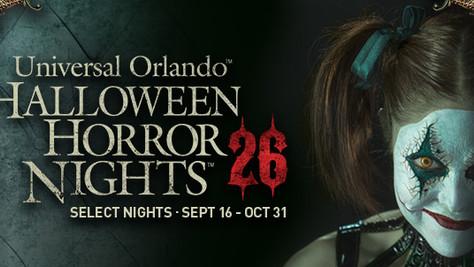 Universal Orlando's Halloween Horror Nights 26 Review!