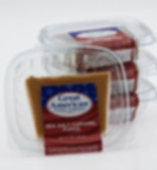 Great American 8 oz. Gourmet Fudge Deli Container