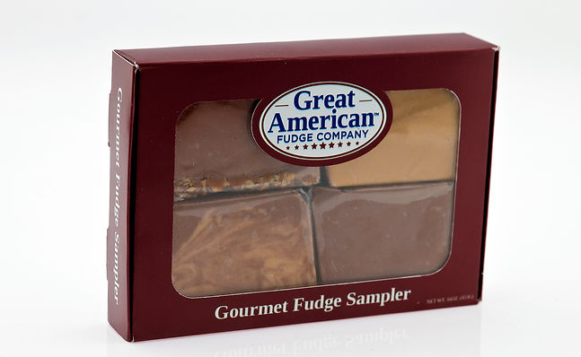 Great American 16 oz. Fudge Gift Boxes