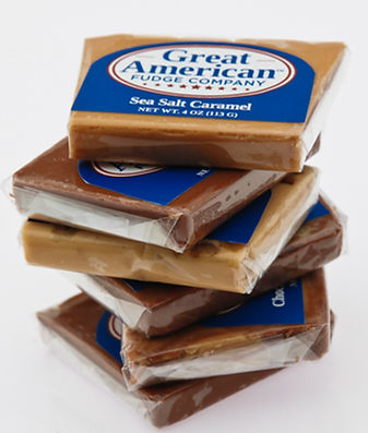 Great American 4 oz. Gourmet Fudge Slices