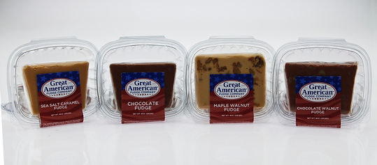 Great American 8 oz. Gourmet Fudge Slice Deli Containers