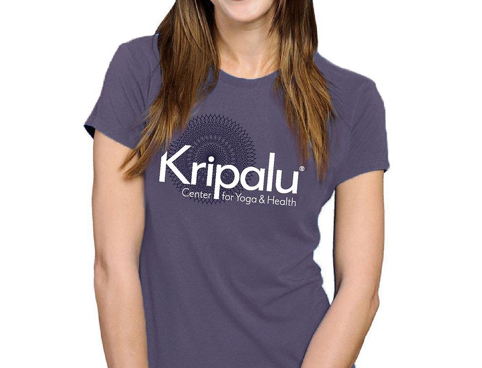 Kripalu Layered Mandala Dusty Purple Bamboo SS T
