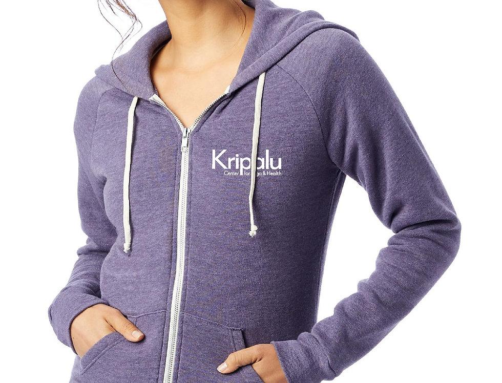 Kripalu Mandala Eco Fleece Zip Hoody