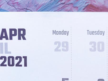 April 2021 Tax Due Dates