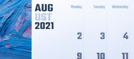 August 2021 Due Dates