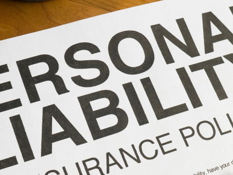 Sole Proprietorships – Don't Overlook the Liability Issues