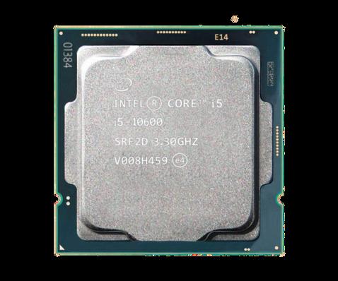 מעבד אינטל דור 10 Intel Core i5-10600 tray 4.8GHZ 6 Crs 12 Tr