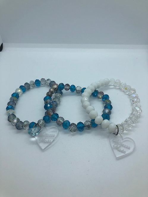 Three bracelet sets