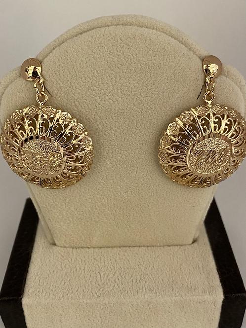 Rose Gold 788 Dangle Earrings