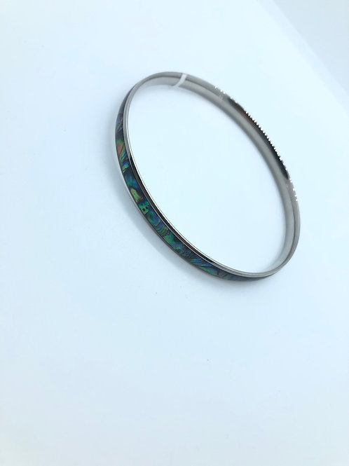 Green + Blue Bangle