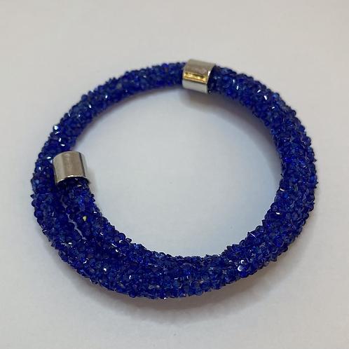 Royal Blue Wrap Bracelet