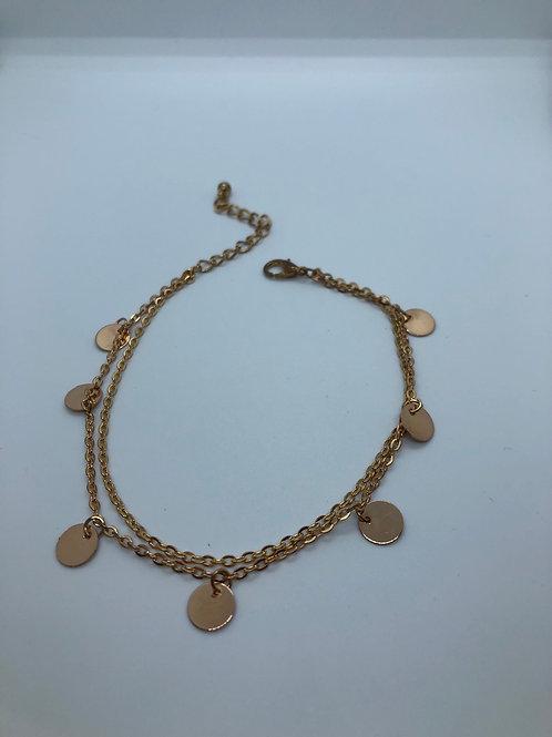 Brass Anklet
