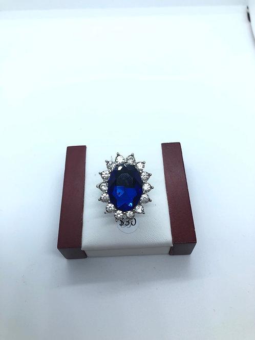 Navy Blue Ring