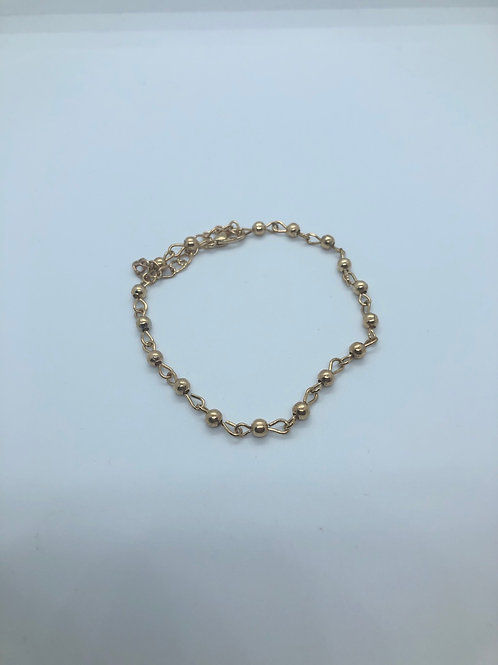 Gold Anklet or Bracelet