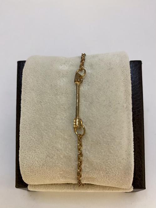 Rose Gold + Arrow Bracelet
