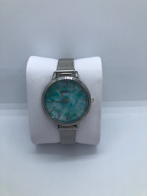 Silver Turquoise Watch