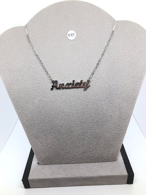"""""""Anxiety"""" Necklace"""